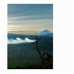 Bromo Caldera De Tenegger  Indonesia Large Garden Flag (two Sides) by Nexatart