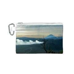 Bromo Caldera De Tenegger  Indonesia Canvas Cosmetic Bag (s) by Nexatart