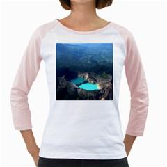 Kelimutu Crater Lakes  Indonesia Girly Raglans