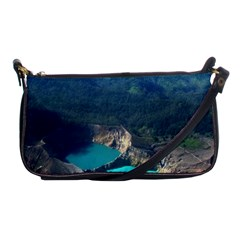 Kelimutu Crater Lakes  Indonesia Shoulder Clutch Bags by Nexatart