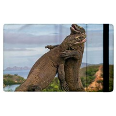 Komodo Dragons Fight Apple Ipad 2 Flip Case by Nexatart
