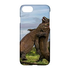Komodo Dragons Fight Apple Iphone 7 Hardshell Case by Nexatart