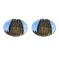 Prambanan Temple Cufflinks (oval) by Nexatart