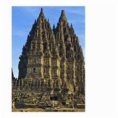 Prambanan Temple Small Garden Flag (two Sides) by Nexatart