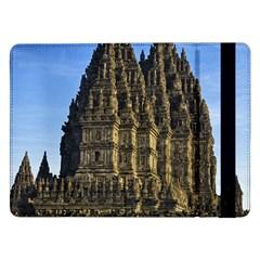 Prambanan Temple Samsung Galaxy Tab Pro 12 2  Flip Case by Nexatart