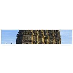 Prambanan Temple Flano Scarf (small) by Nexatart