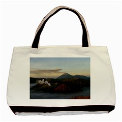 Sunrise Mount Bromo Tengger Semeru National Park  Indonesia Basic Tote Bag (two Sides) by Nexatart