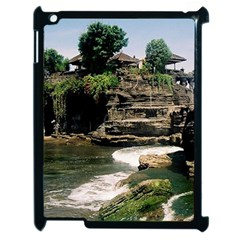 Tanah Lot Bali Indonesia Apple Ipad 2 Case (black) by Nexatart