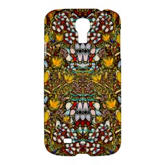 Fantasy Forest And Fantasy Plumeria In Peace Samsung Galaxy S4 I9500/i9505 Hardshell Case by pepitasart