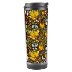 Fantasy Forest And Fantasy Plumeria In Peace Travel Tumbler by pepitasart