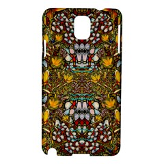 Fantasy Forest And Fantasy Plumeria In Peace Samsung Galaxy Note 3 N9005 Hardshell Case by pepitasart