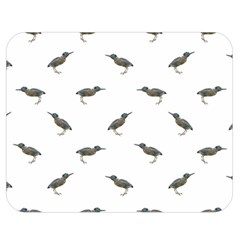 Exotic Birds Motif Pattern Double Sided Flano Blanket (medium)  by dflcprints