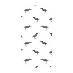 Exotic Birds Motif Pattern Samsung Galaxy Alpha Hardshell Back Case by dflcprints