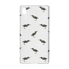 Exotic Birds Motif Pattern Sony Xperia Z3+ by dflcprints