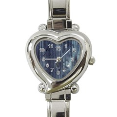 Grey Fence 2 Heart Italian Charm Watch by trendistuff