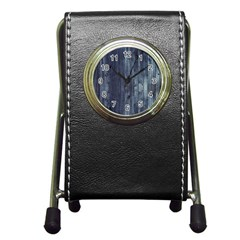 Grey Fence 2 Pen Holder Desk Clocks by trendistuff