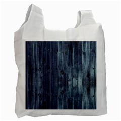 Grey Fence 2 Recycle Bag (two Side)  by trendistuff