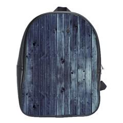 Grey Fence 2 School Bag (xl) by trendistuff