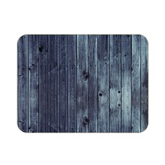 Grey Fence 2 Double Sided Flano Blanket (mini)  by trendistuff