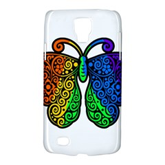 Rainbow Butterfly  Galaxy S4 Active by Valentinaart