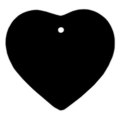 Black Ornament (heart) by theunrulyartist