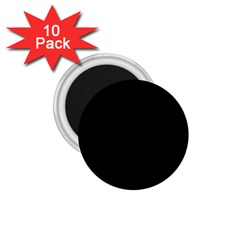 Black 1 75  Magnets (10 Pack)  by theunrulyartist