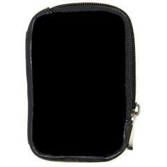 Black Compact Camera Cases by theunrulyartist
