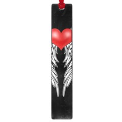Angel Heart Tattoo Large Book Marks by Valentinaart