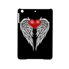 Angel Heart Tattoo Ipad Mini 2 Hardshell Cases by Valentinaart
