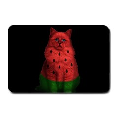 Watermelon Cat Plate Mats by Valentinaart