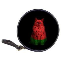 Watermelon Cat Classic 20 Cd Wallets by Valentinaart