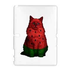 Watermelon Cat Galaxy Note 1 by Valentinaart