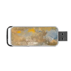 Sunset In The Mountains Portable Usb Flash (two Sides) by theunrulyartist