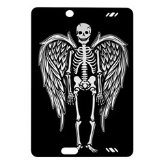 Angel Skeleton Amazon Kindle Fire Hd (2013) Hardshell Case by Valentinaart