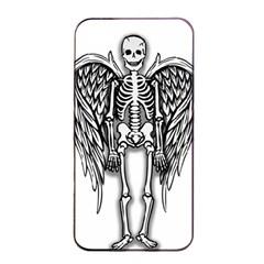 Angel Skeleton Apple Iphone 4/4s Seamless Case (black) by Valentinaart