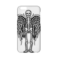 Angel Skeleton Apple Iphone 6/6s Hardshell Case by Valentinaart