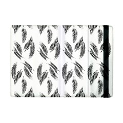 Feather Pattern Ipad Mini 2 Flip Cases by Valentinaart