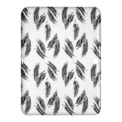 Feather Pattern Samsung Galaxy Tab 4 (10 1 ) Hardshell Case  by Valentinaart