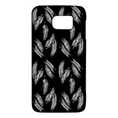 Feather Pattern Galaxy S6 by Valentinaart