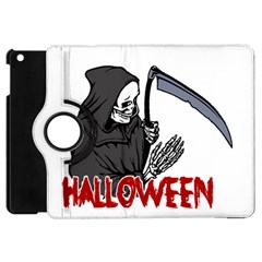 Death   Halloween Apple Ipad Mini Flip 360 Case by Valentinaart