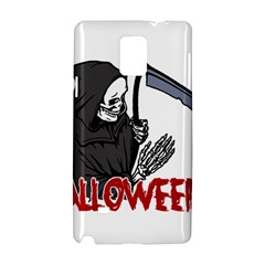 Death   Halloween Samsung Galaxy Note 4 Hardshell Case by Valentinaart