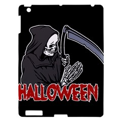 Death   Halloween Apple Ipad 3/4 Hardshell Case by Valentinaart