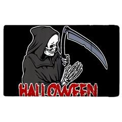 Death   Halloween Apple Ipad 3/4 Flip Case by Valentinaart