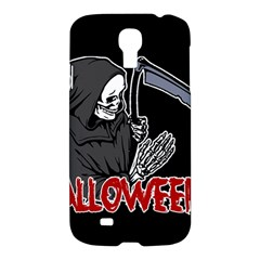 Death   Halloween Samsung Galaxy S4 I9500/i9505 Hardshell Case by Valentinaart