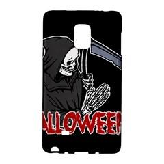 Death   Halloween Galaxy Note Edge by Valentinaart