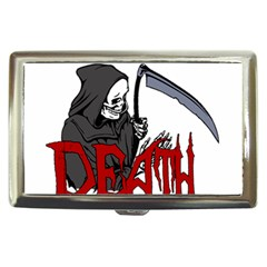 Death   Halloween Cigarette Money Cases by Valentinaart