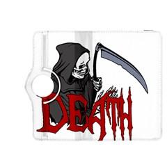 Death   Halloween Kindle Fire Hdx 8 9  Flip 360 Case by Valentinaart