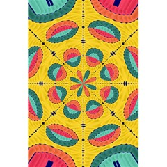 Textured Tropical Mandala 5 5  X 8 5  Notebooks by linceazul