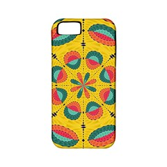 Textured Tropical Mandala Apple Iphone 5 Classic Hardshell Case (pc+silicone) by linceazul