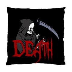 Death   Halloween Standard Cushion Case (one Side) by Valentinaart